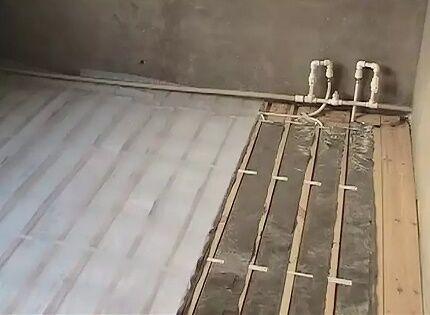Настильный водяной пол