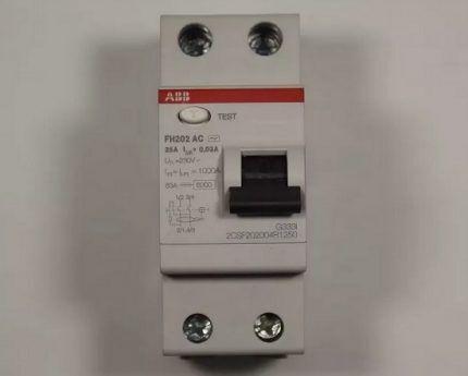 Устройство дифференциального тока FH200