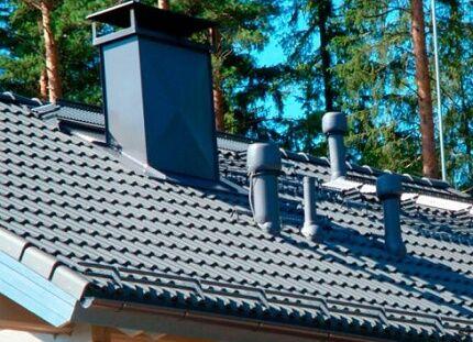 Высота установки вентиляционной трубы