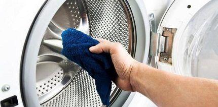 Уход за стиральной машинкой
