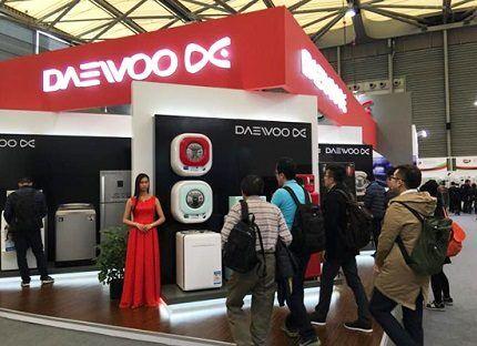 Выставочный стенд Daewoo Electronics