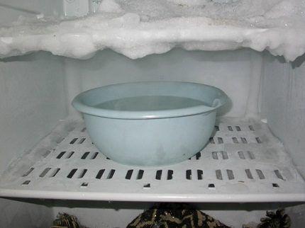 Ускоренная разморозка холодильника