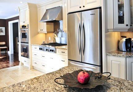 Распашной холодильник сайд бай сайд
