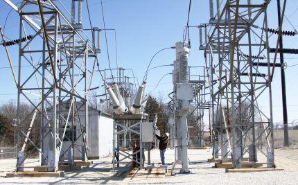 Элегаз для высоковольтных сетей