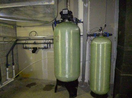 Фильтр обезжелезивания воды