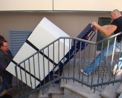 Транспортировка устройства по лестнице