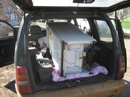 Перевозка прибора в легковом авто