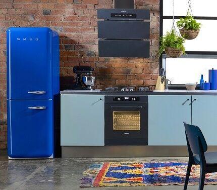 Холодильники в винтажном стиле от Смег