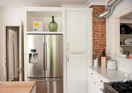 Трехкамерный холодильник итальянского производства