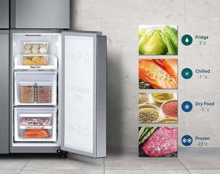 Настройка температурного режима холодильника