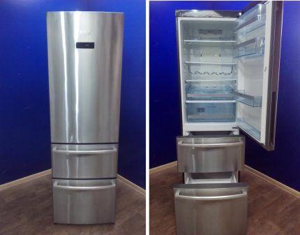Выдвижные ящики холодильника