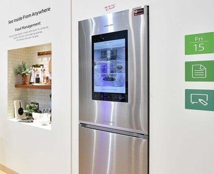 Холодильник Самсунг с нижним расположением морозилки