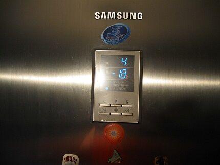 Электронный вариант управления холодильником Самсунг