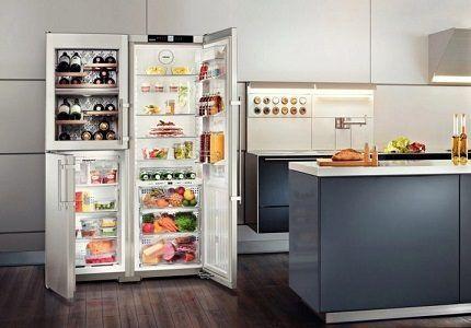 Холодильник сайд бай сайд