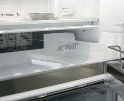 Открытый холодильник Whirlpool WSG 5588