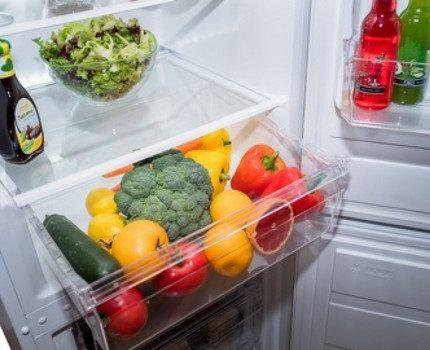 Продукты в холодильнике Норд