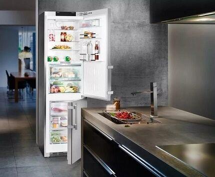 Недостатки холодильников с морозилкой внизу