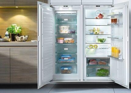 Органичения для покупки двухдверного холодильника