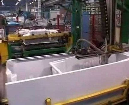 Цех липецкого завода ххолодильного оборудования