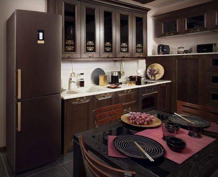 Холодильник Бош в интерьере