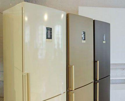 Цветные холодильники Бош