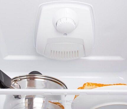 Схема работы холодильника без инея