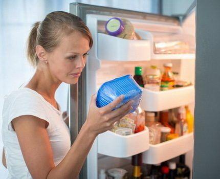 Хранение продуктов с резкими запахами
