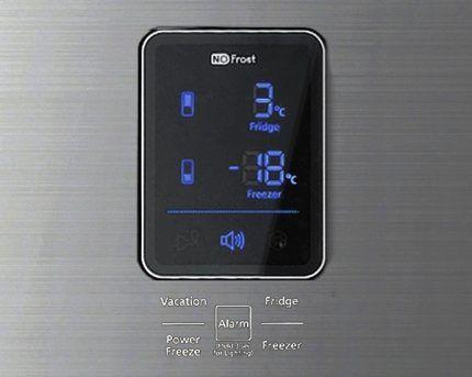 Информационный дисплей холодильника