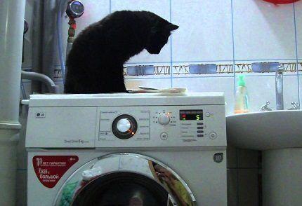Отжим в инверторных стиралках