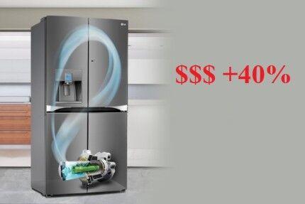 Стоимость инверторных холодильников выше
