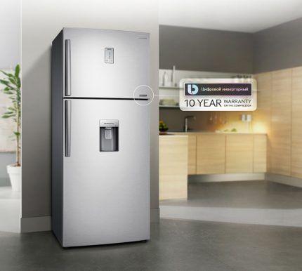 Гарантийные обязательства на инверторные холодильники
