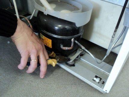 Крепеж компрессора