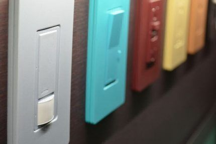 Модели выключателей Lutron