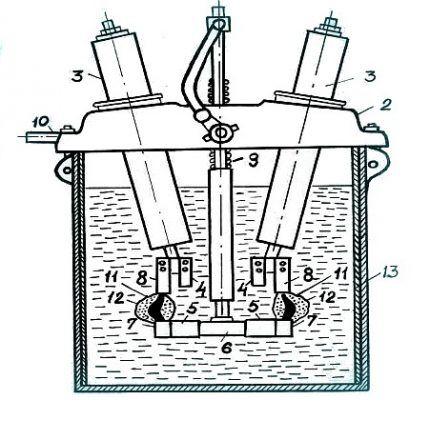Схема выключателя ВМЭ-6-200
