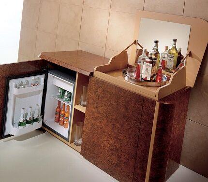 Компрессорный тип мини холодильников