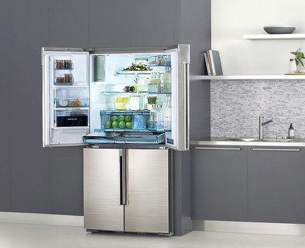 Многодверный холодильник Samsung