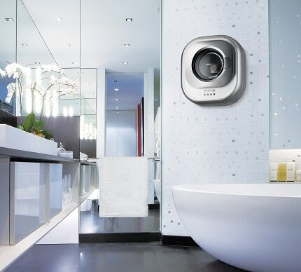Размещение навесной модели в ванной