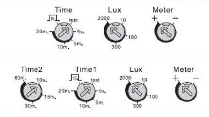 Варианты с настроечными потенциометрами