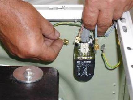 Фильтр помех в стиральном оборудовании