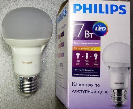 Лампа Филипс