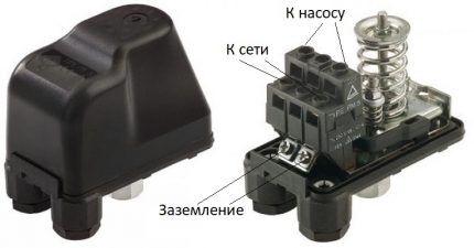 Подключение реле к электросети