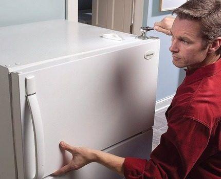 Ремонт холодильника владельцем