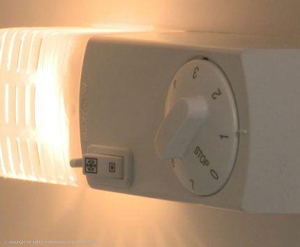 Замена перегоревшего светильника