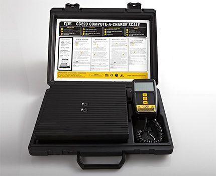 Электронные весы для определения объема хладагента