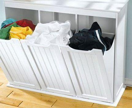 Ящик для сортировки белья