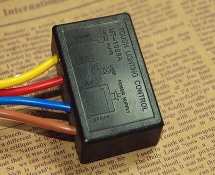 Сенсорный датчик выключателя