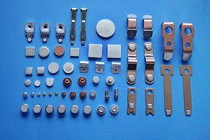 Серебряные наконечники контактов