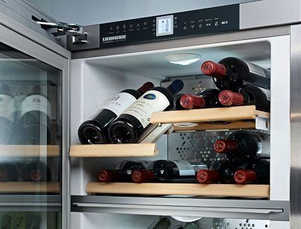 Отсек для хранения элитного вина