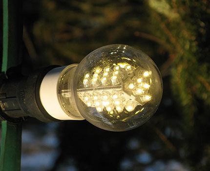 Тлеющий режим горения лампы