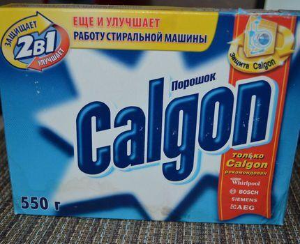 Калгон смягчает жесткую воду